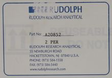 Rudolph Research Analytical Tem