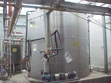 13800 Gallon Stainless Steel Ta