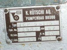 30 Gpm Ruetschi Centrifugal Pum
