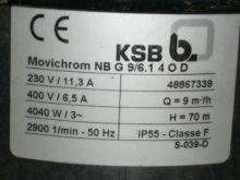 40 Gpm Ksb Centrifugal Pump #20