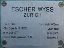 62 Diameter Inch Escher Wyss Pe
