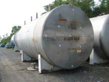 10000 Gallon Stainless Steel Ta