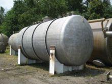 5000 Gallon Stainless Steel Tan