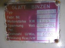 300 Liter Glatt Binzen Fluid Be