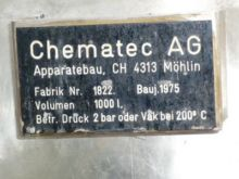 264 Gallon Chematec Stainless S