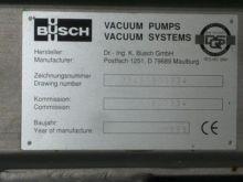 0 Gpm Busch Vacuum Pump #211738