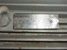 21 Horsepower Siemens Motor Ele