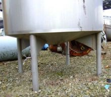 1717 Gallon Stainless Steel Tan