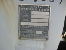 Scfm Hoffman Centrifugal Blower