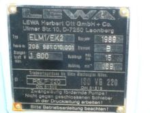 4 Gpm Lewa Reciprocating Pump #
