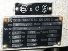 83 Gpm Ruetschi Centrifugal Pum