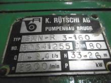 38 Gpm Ruetschi Centrifugal Pum