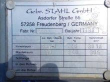 800 Gallon Gebr. Stahl/germany