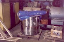 31 Inch Wide Flaker Drum And Be