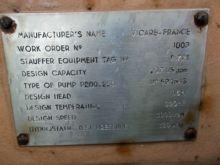 237 Gpm Vicarb Centrifugal Pump