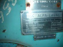 0 Horsepower Alfa Laval Disc Bo