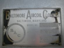 Ton Baltimore Air Coil Tower Ch