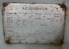 Warehouse Diesel Generator #988