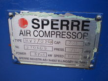 SPERRE HV2/270A SR.NO-270609