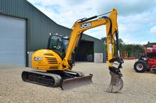 JCB 8085 Excavator ZTS (8989)