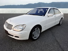 2003 MERCEDES-BENZ S 600 / Limo