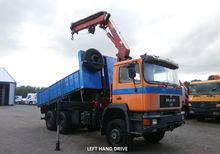 1995 Man 27.342 6x6 Tipper With