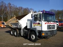 1999 Man 33.314 6x4 3-way Tippe