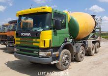 2002 Scania P114C 8x4 Cement Mi