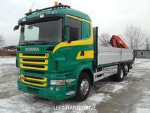 2005 Scania R 420 6x2 Crane Tru