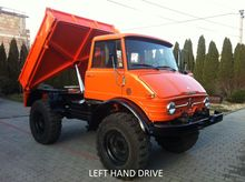 1970 Unimog 406 3-Way Tipper