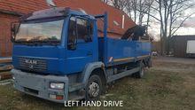 1997 MAN L75 Crane Truck