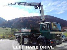 1998 MAN 19 4x2 Crane Truck