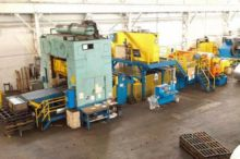 400 TON WARCO PRESS LINE, BED S