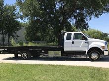 2014 Ford F650 Ext. Cab