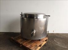 NNP Stainless jacketed vessel
