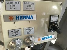 Herma top and bottom label appl