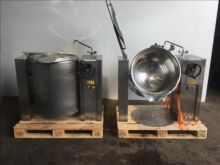 RTL jacketed tipping vessel