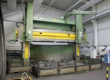 CNC Double Column Vertical Bore