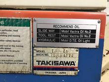 Takisawa TS25 CNC Lathe w/ Bar
