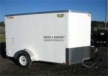 2016 DOOLITTLE 6' x 10' Cargo