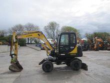 Wheeled excavators Hyundai