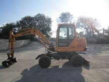 2000 Wheeled excavators Hyundai