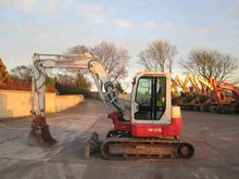 Mini excavators  7t - 12t Takeu