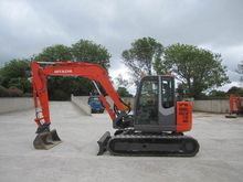 Mini excavators  7t - 12t Hitac
