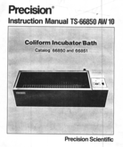 Precision Scientific Coliform W