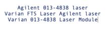 Agilent 013-4838 laser Agilent