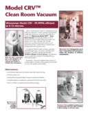 Vacuum Cleaner Clean Room Type