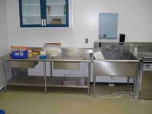 Stainless Steel Sink and Table