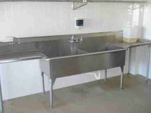 Stainless Steel Double Sink Lar