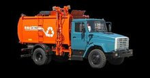 2017 ZIL Garbage truck with lat